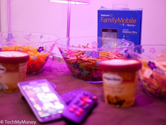 Walmart Family Mobile Plus Powers Our In-House Movie Nights #YourTaxCash | Tech My Money