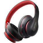 Anker Soundcore Life Q10 Wireless Bluetooth Headphones, Over Ear and Foldable, Hi-Res Certified Sound, 60-Hour Playtime and Fast USB-C Charging, Deep