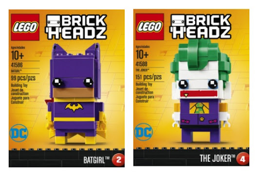 """The LEGO Batman Movie"" is HERE Along With LEGO BrickHeadz (& Giveaway Ends 6/30) - Mom and More"
