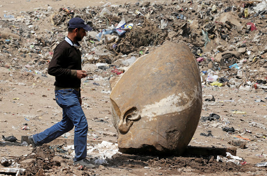 'Most Important Recent Discovery': Ramsees II Colossus Found in Egypt | Egyptian Streets