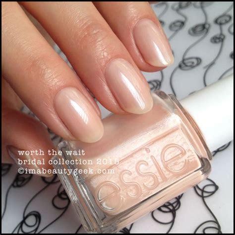 Essie Worth the Wait   Essie Bridal 2015   nail polish