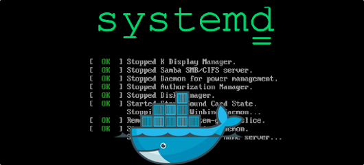 Manage containers with Systemd