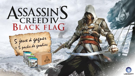 CONCOURS ASSASSIN'S CREED 4 BLACK FLAG | Insert Coin