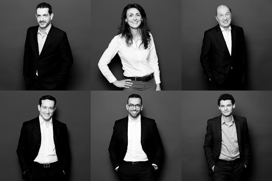 Portraits corporate sur site, Paris