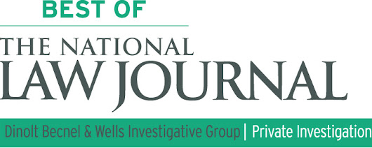 "National Law Journal named us ""Best Private Investigations Provider"" of 2016 - Dinolt Becnel & Wells Investigative Group"