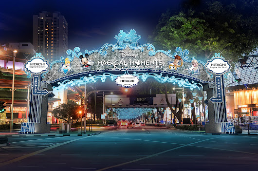Enjoy Disney Magical Moments along Orchard Road this Christmas! | Darren Bloggie 達人的部落格