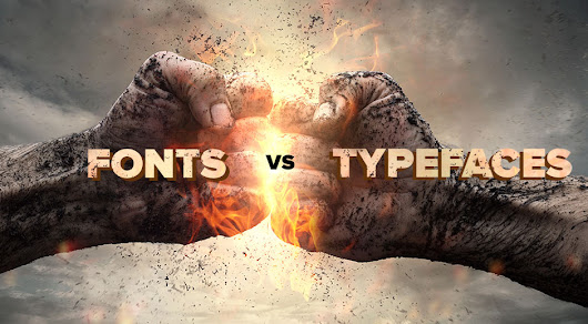 What's the difference between a font and a typeface? | Daniel Swanick