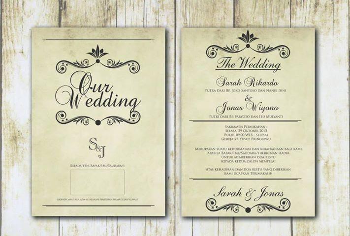 91+ Gambar Desain Undangan Pernikahan Dalam Bahasa Inggris HD Terbaik Yang Bisa Anda Tiru