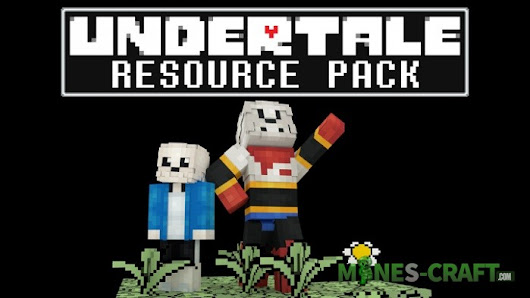 Undertale Resource Pack [32x] [1.13.2] | | Mines-Craft.com