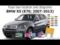 Bmw X 5 Fuse Panel Diagram