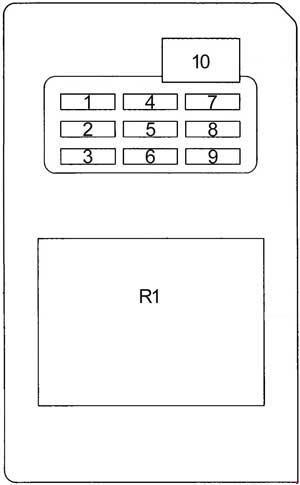 96 02 Toyota 4runner Fuse Box Diagram