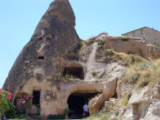 Cappadocia, Turkey: parece una cara