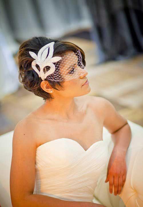 Acconciature sposa con capelli corti le idee più belle da cui prendere  - acconciature sposa capelli corti mossi