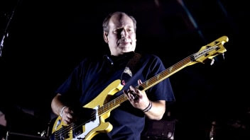 INDIO, CA - APRIL 16: Hans Zimmer performs on the Outdoor Theatre during day 3 of the Coachella Valley Music And Arts Festival (Weekend 1) at the Empire Polo Club on April 16, 2017 in Indio, California.