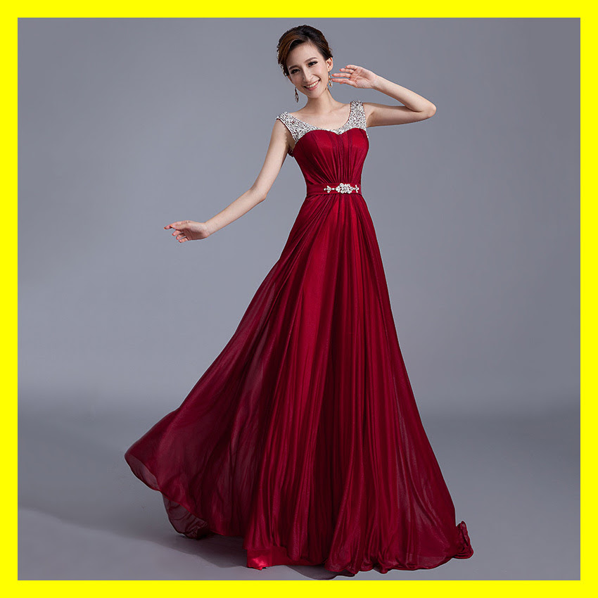 Red maxi evening dress uk