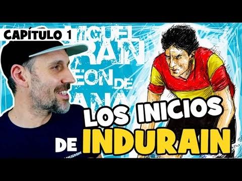 """La LEYENDA de INDURAIN. Capítulo 1. """"LOS INICIOS"""" - Alfonso Blanco"""