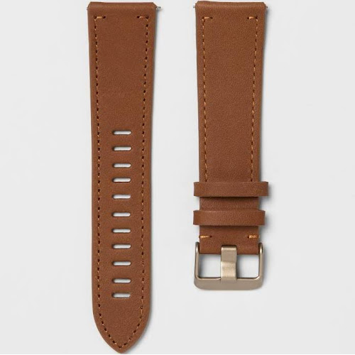 heyday Fitbit Versa Band - Brown Leather