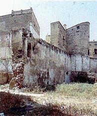 Valencia. Torre y muros del XI, cerca de la plaza del Ángel