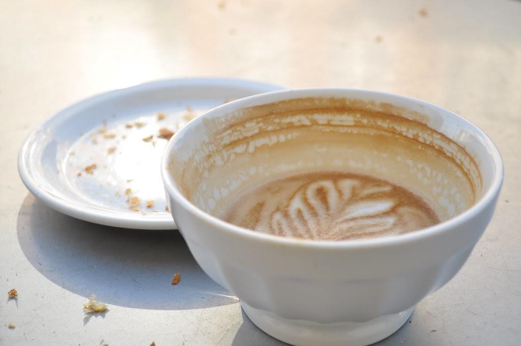 latte from tartine