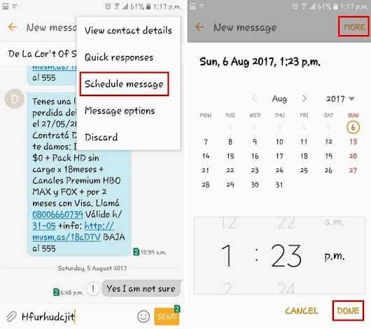 How to Schedule a Text Message on Any Android Device