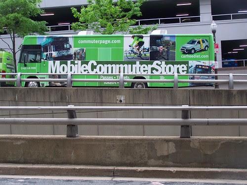 Mobile Commuter Store vehicles, Arlington