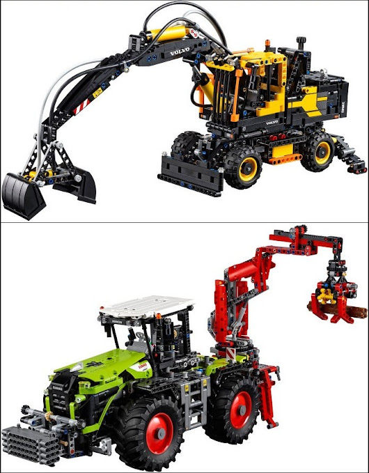2H 2016 Technic sets reviews