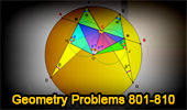 Geometry Problems 801-810.