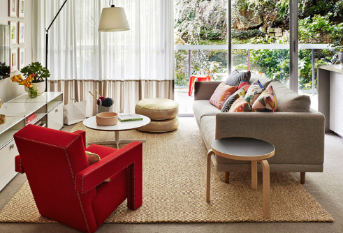 A Litte Cover-Up: How to Use Rugs to Smarten Up Any Room