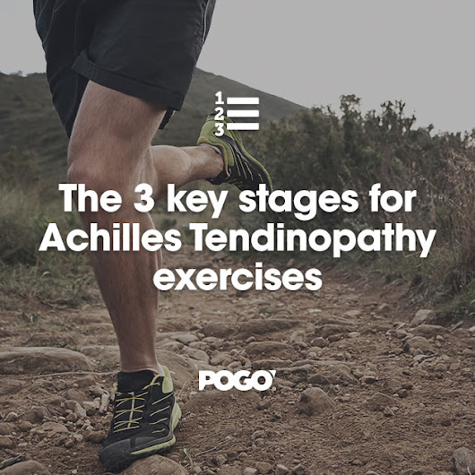 The 3 key stages for Achilles Tendinopathy exercises | POGO Physio Gold Coast
