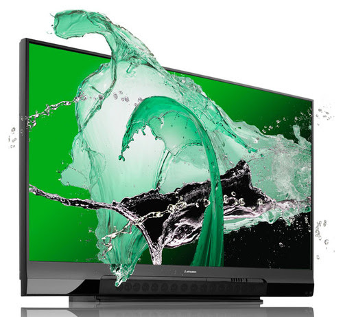 Mitsubishi WD-82738: 82 Inches of 3D TV For Only 00