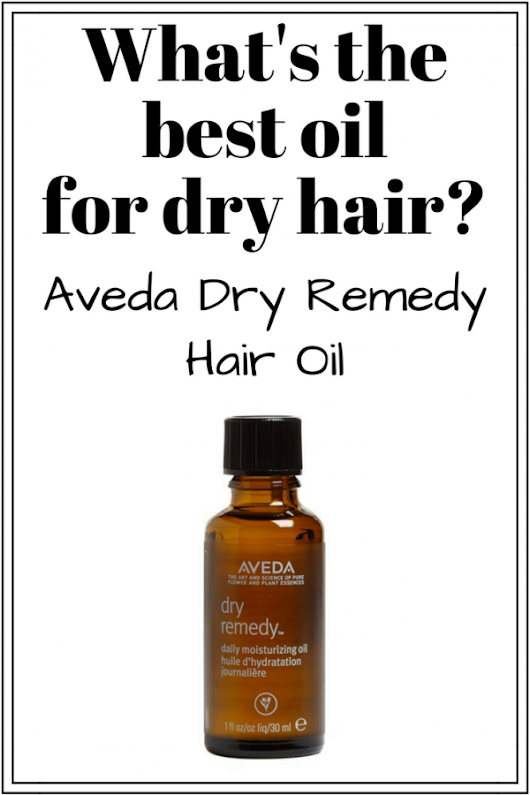 What's the best oil for dry hair? Aveda Dry Remedy Hair Oil!