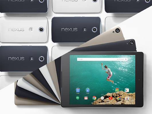 Get More Done With The Brand New Nexus 6 Phone & Nexus 9 Tablet