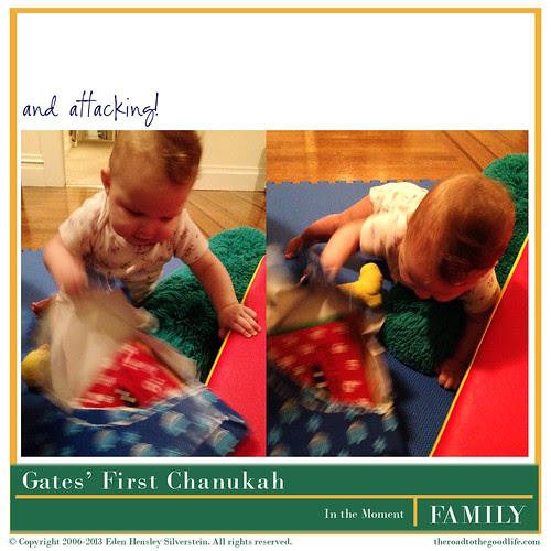 Gates' First Chanukah: Attacking