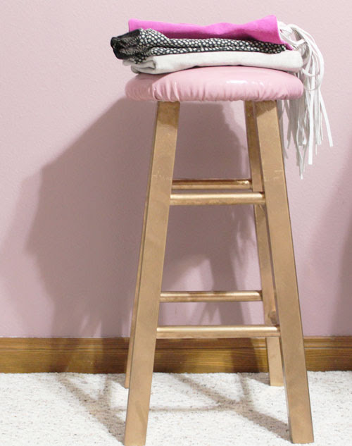 Werk with What You Got | Updating a Boring (Cheap) Bar Stool - Whitney J Decor