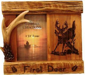 Hollands Wood Photo Frame Engraved