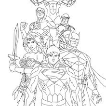 Coloriages Super Heros Frhellokidscom