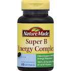 Nature Made Super B Energy Complex, Full Strength Minis, Softgels - 60 count