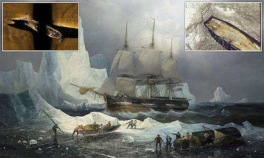 Sailors who died on 1845 expedition are found to be WOMEN