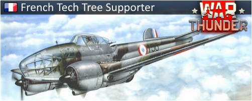 Support Signatures - War Thunder French Aircraft Tech Tree Project