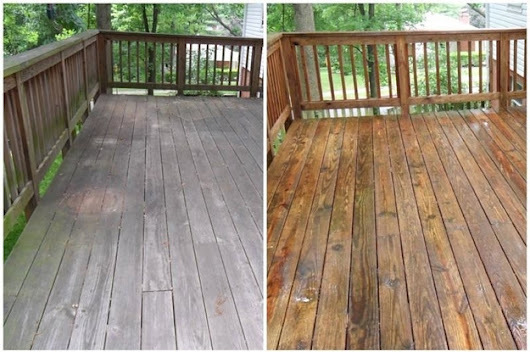 19 Strangely Satisfying Pressure Washing Pictures