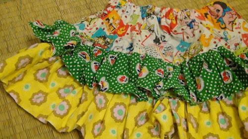 Miyu's ruffle skirt