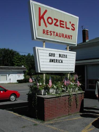 Roadside Sentiment, Hudson, New York, September 16, 2001