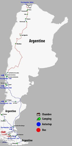 argentine route