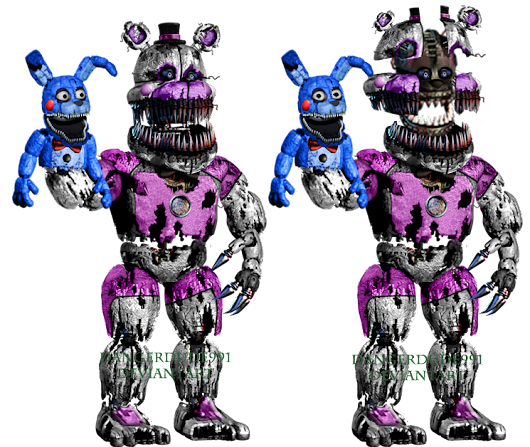 Image: Nightmare Funtime Freddy by Dangerdude991 on DeviantArt