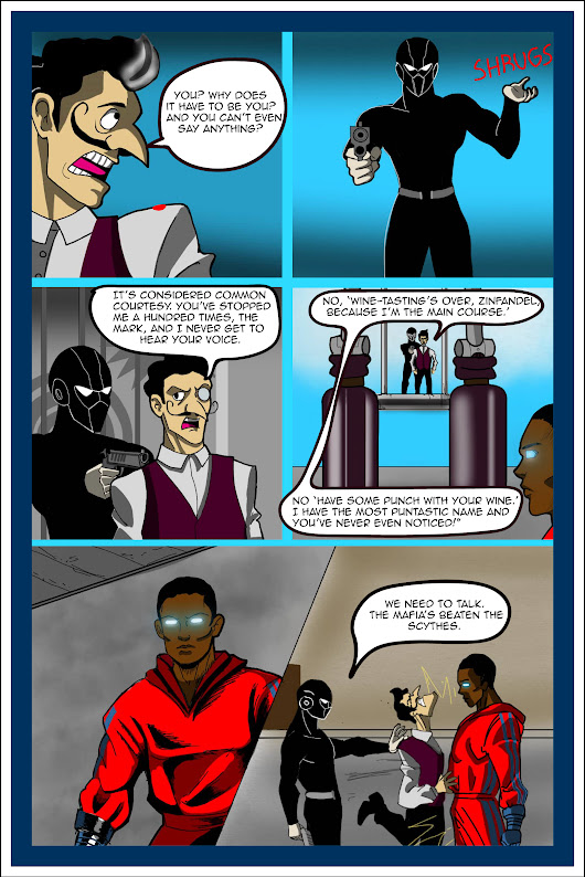 Therapy for Superheroes, Page 2 #comics #becominghero A prequel to the comics character who kills his author.