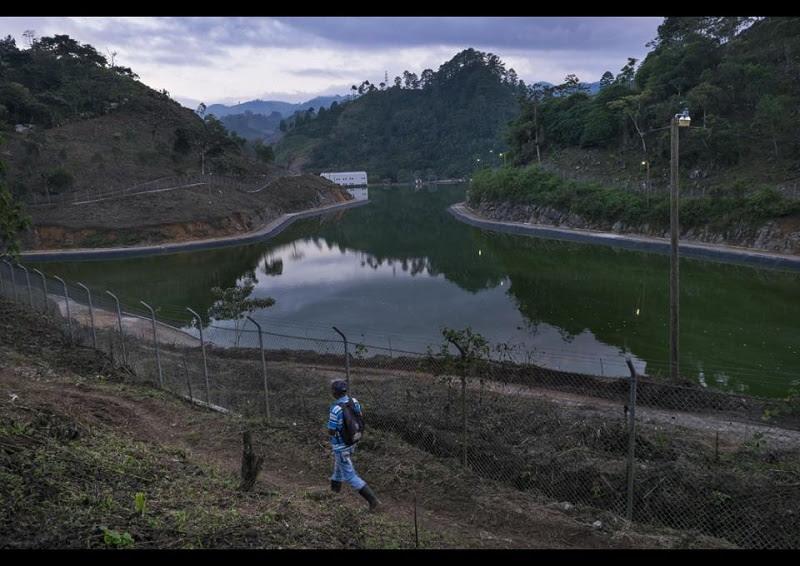 Imagen de la presa Renace sobre el río Cahabón en Guatemala. / Foto: Alianza por la Solidaridad