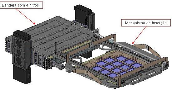 Brasil constrói segunda maior câmera astronômica do mundo