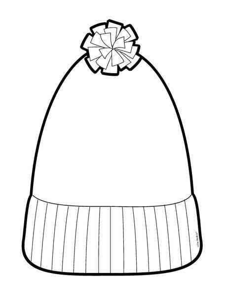 Kışlık Giysiler Boyama Sayfaları Okul öncesi Etkinlik Faliyetleri