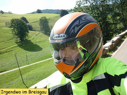 Svendura unterwegs beim Motorradreisen