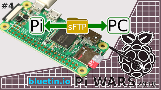 SFTP Client connection to Raspberry Pi - bluetin.io